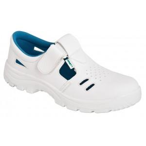 Sandale de protectie albe VOG O1