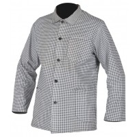Bluza pentru macelar cu maneca lunga PEPITO