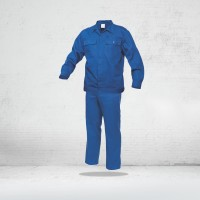 Salopeta de lucru ( set pantalon CU PIEPTAR + jacheta ) COMANDA SPECIALA - BLEUMARIN