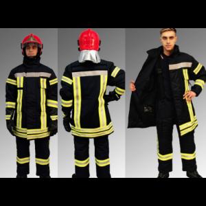 Costum pompier Nomex hidrofobizat, ignifugat, antistatic