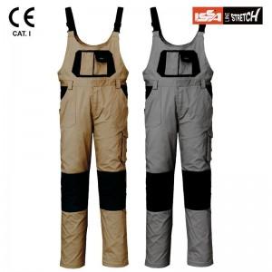 Pantaloni de lucru cu pieptar stretch EAGLE