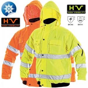 Jachetă de lucru Hi-Viz LEEDS