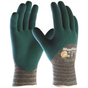 Manusi de lucru PROFESIONALE imersate 3/4 in nitril ATG MAXIFLEX COMFORT 34-925