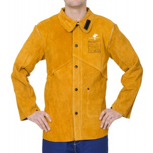 Jacheta pentru sudor Kevlar - WELDAS Golden Brown 44-2530